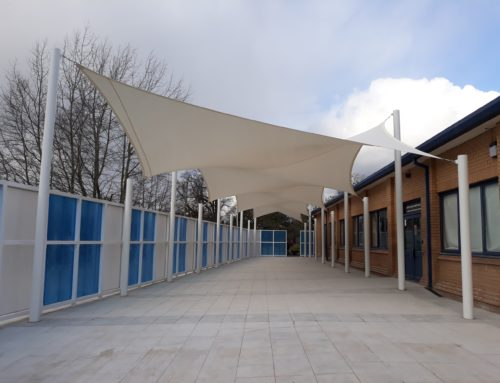 Wilmslow High School: External Dining Area